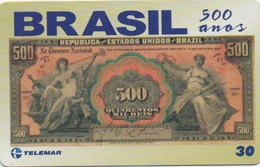 Brésil : Série De 500 Ans : Billet De Banque 1908 - Francobolli & Monete