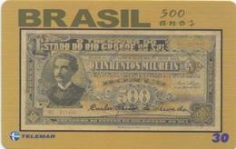 Brésil : Série De 500 Ans : Billet De Banque 1933 - Francobolli & Monete
