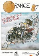 Carte Postale PTILUC Festival BD Orange 1987 (Pacush Blues - Ansichtskarten