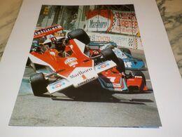 PHOTO JAME HUNT ET JOHN WATSON - Automovilismo - F1