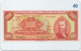 Brésil : Billet De Banque 1942-1967 - Francobolli & Monete