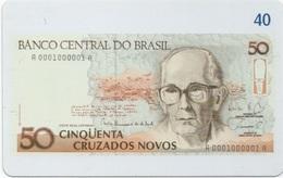 Brésil : Billet De Banque 1989-1990 - Francobolli & Monete