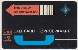 389/ South Africa; PT6. Orange Arrow, R10, Without Notch, Bottom Control A011597 - Sudafrica