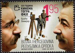 Bosnia & Herzegovina - Republika Srpska - 2020 - 125 Years Of Cinema - Lumiere Brothers - Mint Stamp - Bosnien-Herzegowina