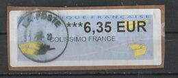 France Colissimo  6.35 Euro - 2000 «Avions En Papier»