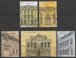4822/4826 Maisons Mattres Belges/Herenhuizen Oblit/gestp Centrale - Belgique