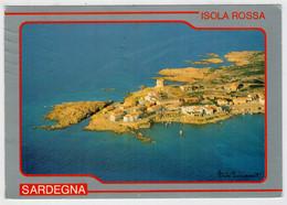 """"""" CONOSCERE  LA  SARDEGNA """"   ISOLA   ROSSA                  (VIAGGIATA) - Italia"""