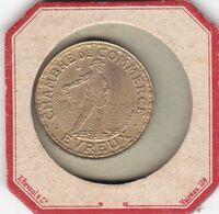 CHAMBRE DE COMMERCE  D EVREUX   2 FRANCS  1922 EN BRONZE - Noodgeld
