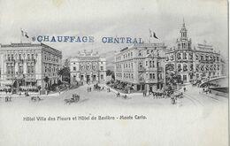 MONTE-CARLO - Hôtel Villa Des Fleurs Et Hôtel De Bavière - Monte-Carlo