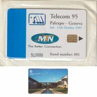 398/ South Africa; MTN, Demo Card, D1. C+W College, Mint - Sudafrica