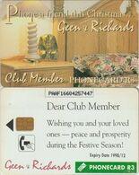 396/ South Africa; Privat Card, PR12. Club Member - Afrique Du Sud