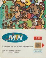397/ South Africa; MTN, P4. Making Friends - Afrique Du Sud