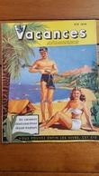 VACANCES AERIENNES ETE 1952 AFRIQUE DU NORD LIVRET DE 23 PAGES AVEC PHOTOS - Tourism Brochures