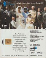 401/ Zimbabwe; P14. Marriage Scene 1 - Zimbabwe