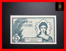 Algeria  5 Francs 16.11.1942  P. 91   UNC-   [MM-Money] - Algeria