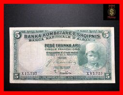 Albania 5 Franka Ari  1926  P. 2   VF   [MM-Money] - Albania