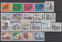 BERLIN Jahrgang 1965, Postfrisch **, 250-269, Komplett - Unused Stamps