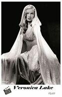 VERONICA LAKE (PB33) - Film Star Pin Up PHOTO POSTCARD - Pandora Box Edition Year 2007 - Donne Celebri