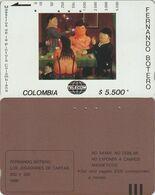 237/ Colombia; P27. Los Jugadores De Cartas - Colombia
