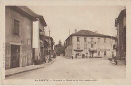 38 La Frette La Place Route De La Côte Saint André Station Essence Shell  -s38 - Sonstige Gemeinden