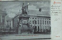 Bruxelles - Monument National, Place Des Martyrs (précurseur Animée 1901) - Bruxelles-ville