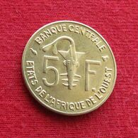 West African States 5 Francs 1999 KM# 2a Western African States Afrique Afrika Ocidental Oeste - Coins