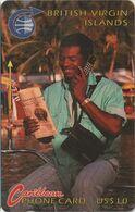 239/ British Virgin Islands; P7. Phoning Man, 3CBVB - Vierges (îles)