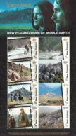 2004 New Zealand Scene Locations Lord Of Rings Movies Films Cinema Souvenir Sheet MNH @ BELOW FACE VALUE - Ongebruikt