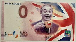 0 Euro POLAND Nigel Farage - śmiech - EURO