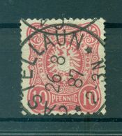 Allemagne - Deutsches Reich 1879 - Y & T  N. 38 - Série Courante (Michel N. 41 I A) (ii) - Gebraucht
