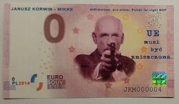 0 Euro POLAND Janusz Korwin - Mikke - EURO