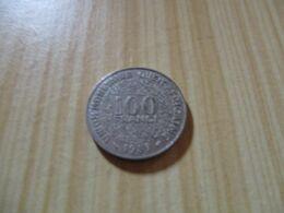 Afrique De L'Ouest - 100 Francs 1989.N°715. - Coins