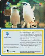 428/ Indonesia; Jalak Bali, Special IRIS Chip - Indonesien
