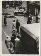 Liège - Rue Ste Marguerite / Photo Format 18x13 ROBYNS De 1948  Accident De Roulage Ayant Fait 4 Tués - Plaatsen