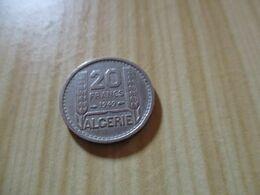 Algérie - 20 Francs Turin 1949.N°721. - Algeria