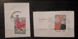 Sweden Svezia 2020 Heartfelt Greetings 2 Stamps 22 Kr Used - Gebruikt