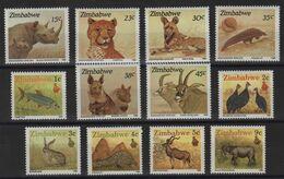 Zimbabwe - N°186 à 197 - Faune - Cote 14.25€ - * Neufs Avec Trace De Charniere - Zimbabwe (1980-...)