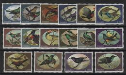 Zambie - N°580 à 595 - Faune - Oiseaux - Cote 37.50€ - * Neufs Avec Trace De Charniere - Zambia (1965-...)