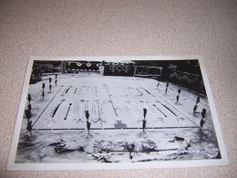 1940s NAVAJO INDIAN SAND PAINTING DISPLAY, REAL-PHOTO RPPC POSTCARD - Indiani Dell'America Del Nord