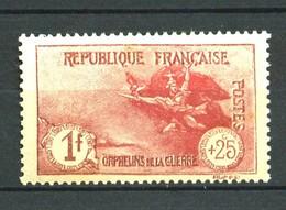 231 -  1F + 25c Orphelins De Guerre  - Neuf N** - Bien Centré - Ongebruikt