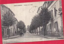 Dépt 71 - PARAY-LE-MONIAL - Avenue De La Gare - Paray Le Monial