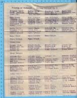 Cleaveland P.Que, Township  - 1920s, Polling Distric # 2, + #1, Richmond-wolfe, 241 Names, Liste Electorale - Documenti Storici
