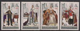 Turks & Caicos 1978 QE2 25th Anniv. Coronation SG 494 - 497 Umm ( E516 ) - Turks And Caicos