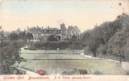 R095436 Linden Hall. Bournemouth. J. T. Exton. 1905 - Non Classificati