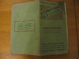 CATALOGUE R 16 - ETS SIMON FRERES à CHERBOURG - MACHINES AGRICOLES - 1932 - Other