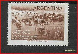 ARGENTINA 1958 Flood Disaster Relief Fund  USED - Argentine