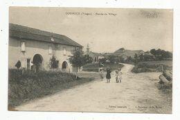 Cp, 88 ,DOUNOUX ,  Entrée Du Village , écrite - Altri Comuni