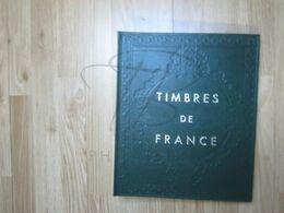 VEND ALBUM Y&T , VERT ,  AVEC FEUILLES DE FRANCE , 1970 - 1990 !!! - Raccoglitori Con Fogli D'album