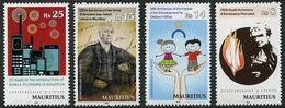 Mauritius (2014) - Set -  /  Eminent Personalities - Celebrities - Children - Reverend - Mobile - Cellular - Phone - Mauritius (1968-...)