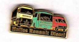 Pin's  Huiles Renault Diesel Zamac Arthus Bertrand - Arthus Bertrand